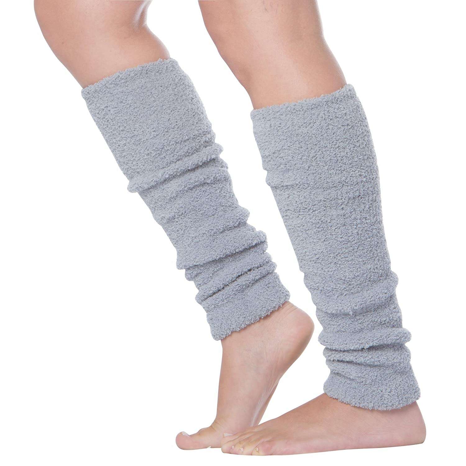 Sakkas Luxury Cashmere Feel Tagless Stretch Leg Warmers 5055460115110