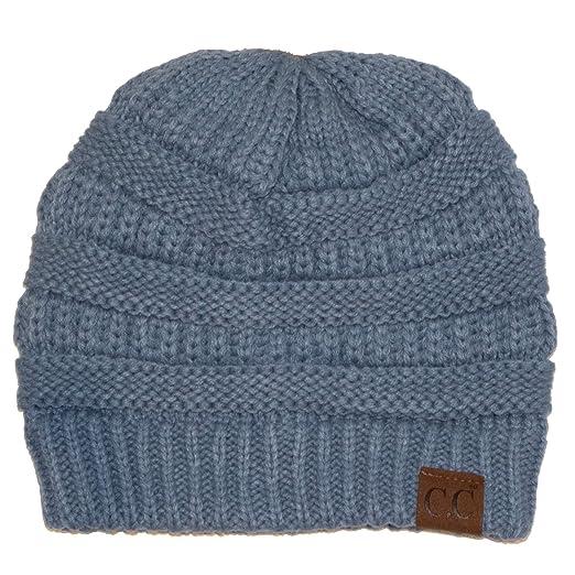 a7bacca1c54bc Suzie Q Women s Knit CC Beanie Hat (One Size