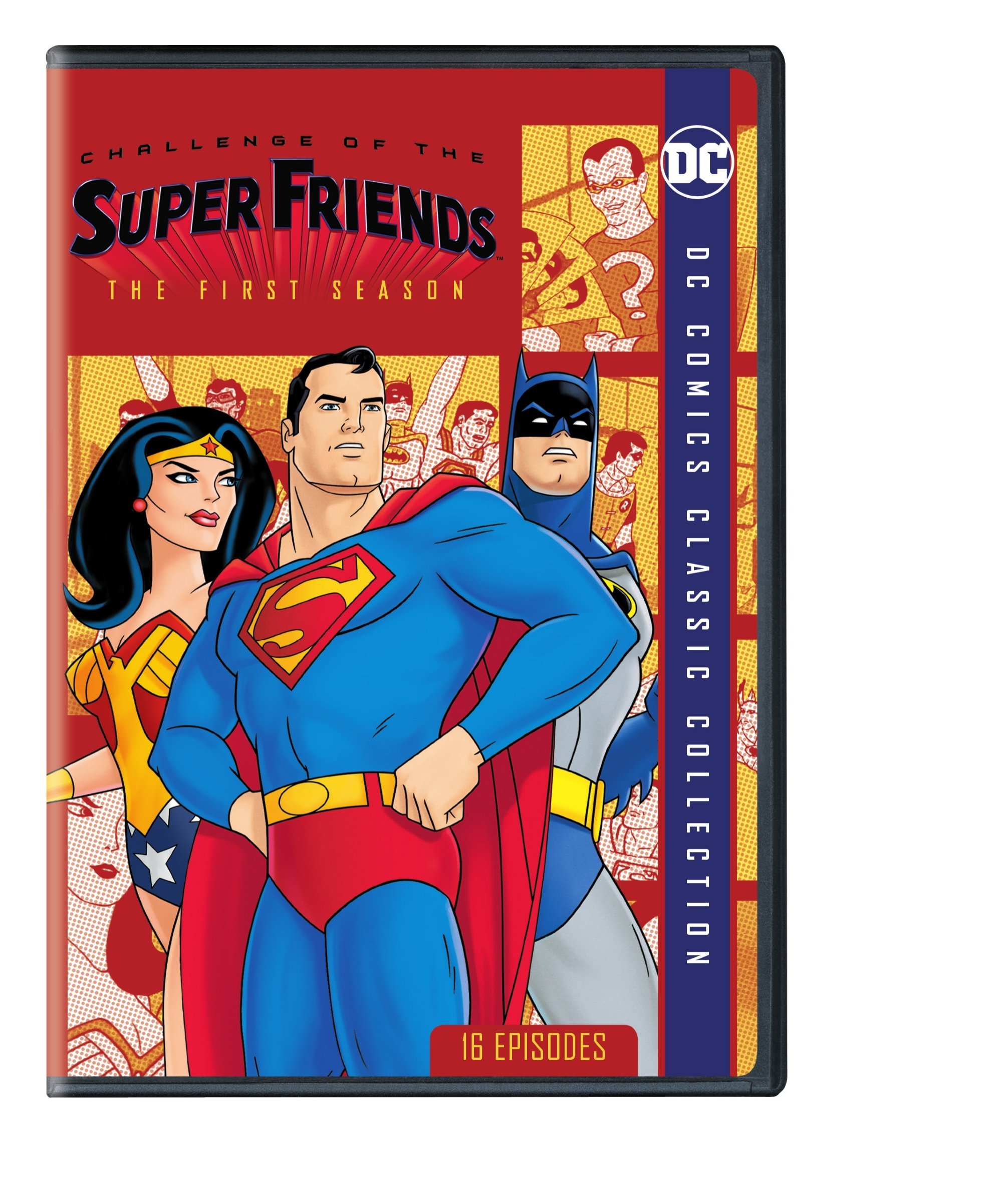 DVD : Challenge Of The Super Friends: The First Season (Amaray Case, Repackaged)