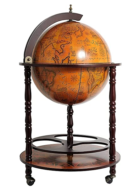 Prime Old Modern Handicrafts Globe Drink Cabinet 17 3 4 Inch By Home Interior And Landscaping Eliaenasavecom