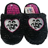 One Direction , Chaussons pour fille Noir Nero