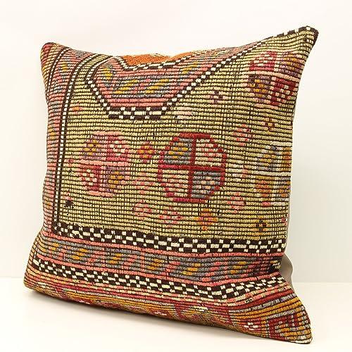 Awe Inspiring Amazon Com Turkish Pillow Cover 20X20 Inch 50X50 Cm Ibusinesslaw Wood Chair Design Ideas Ibusinesslaworg