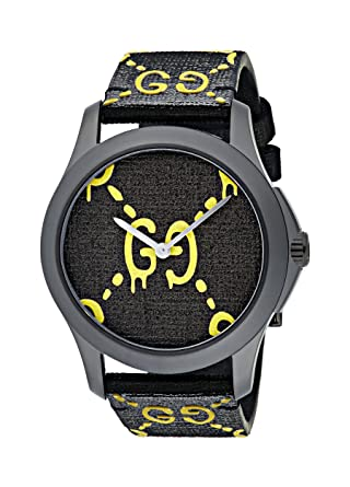 094e85add06 Image Unavailable. Image not available for. Color  Gucci Timeless unisex  watch 38mm YA1264019
