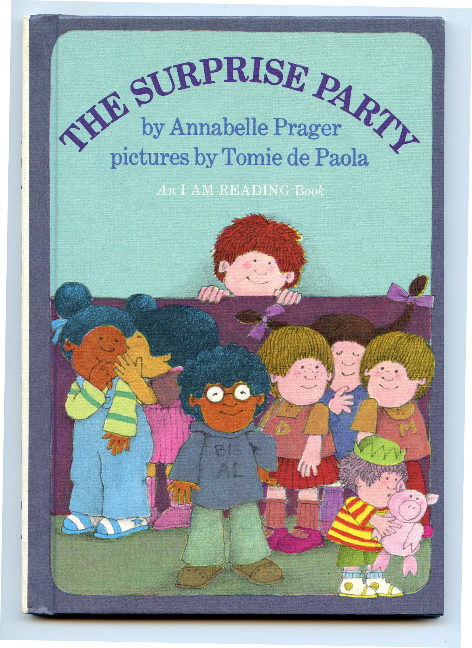the surprise party a read alone book annabelle prager tomie de