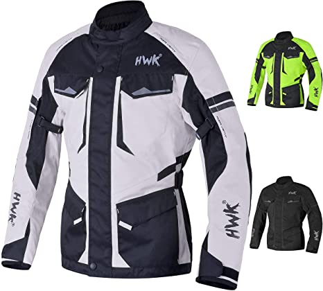 Amazon.com: Adventure/Touring Chaqueta de moto para hombre ...