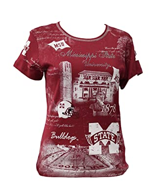 P.Michael Mississippi State Short Sleeve at Amazon Women s Clothing store  44febbcf5