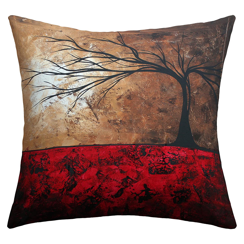 16 x 16 16 x 16 13151-othrp16 Deny Designs Madart Inc Summer Snow Outdoor Throw Pillow