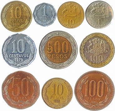 South America Chile coin bracelet made of original coins