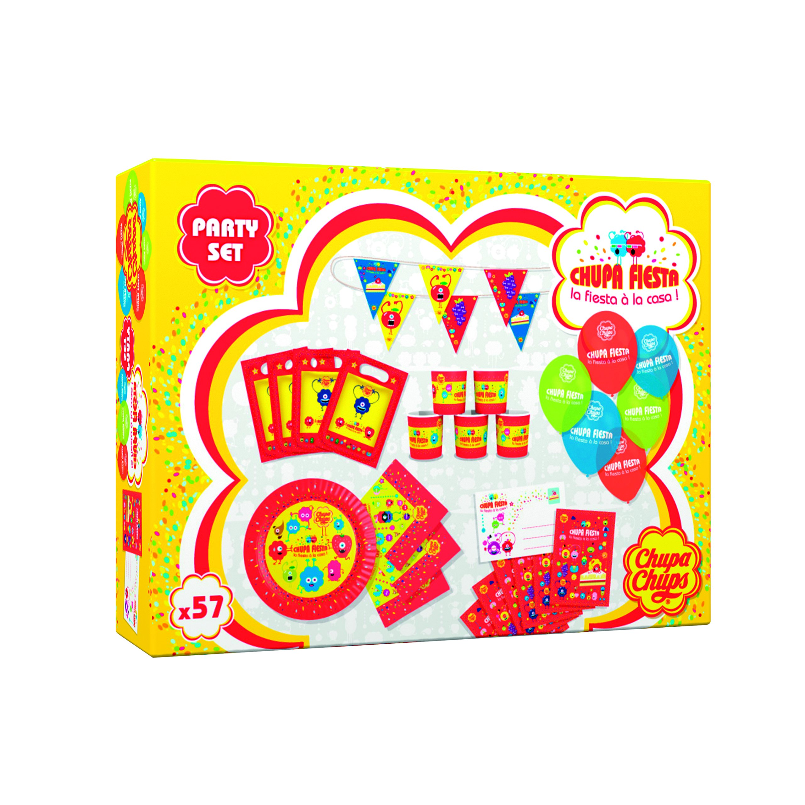 Apicoove Apicoove3760002230573 Chupa Chups Fiesta Party Game