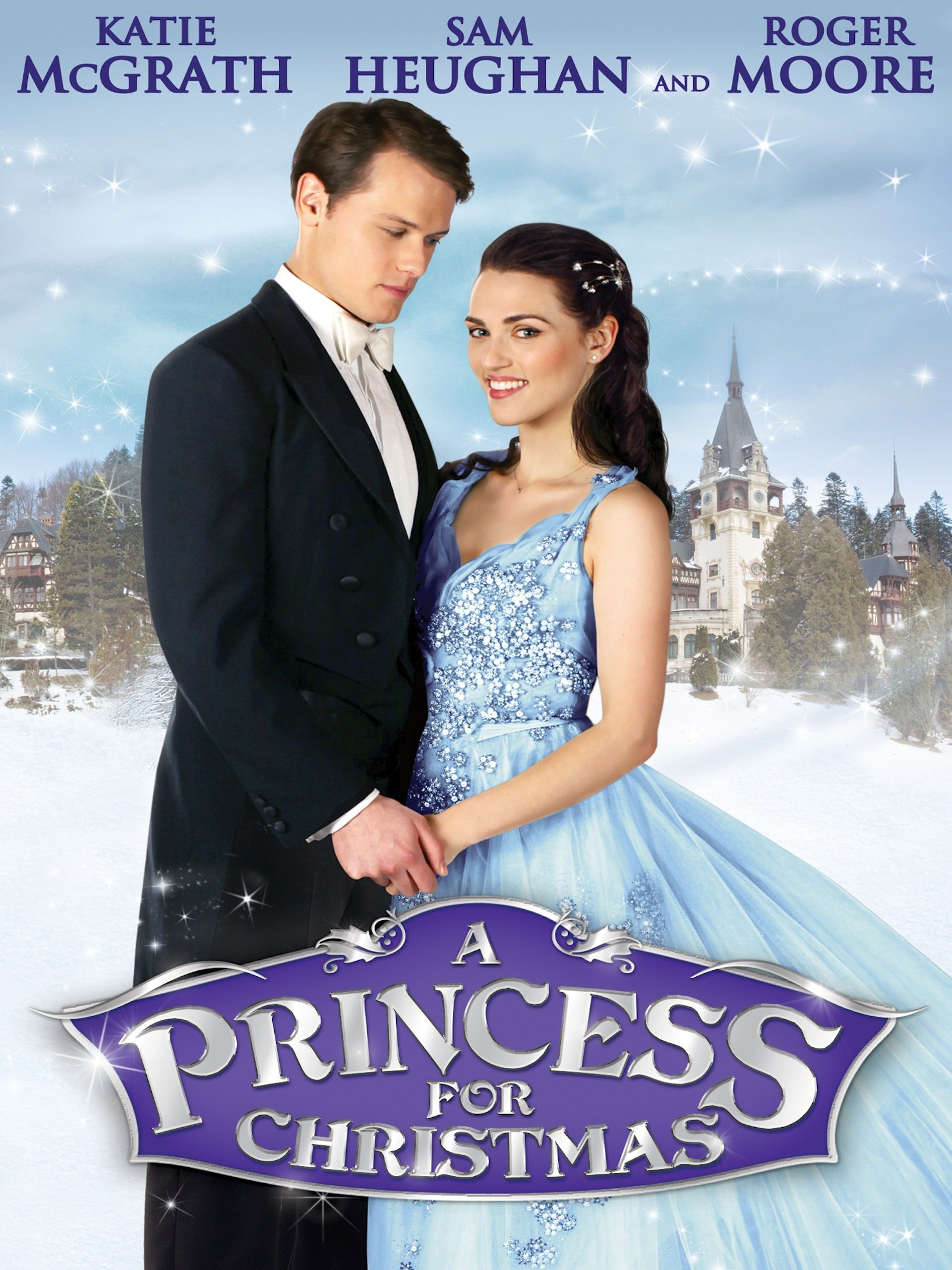 Amazon.com: A Princess For Christmas: Katie McGrath, Sir Roger Moore ...