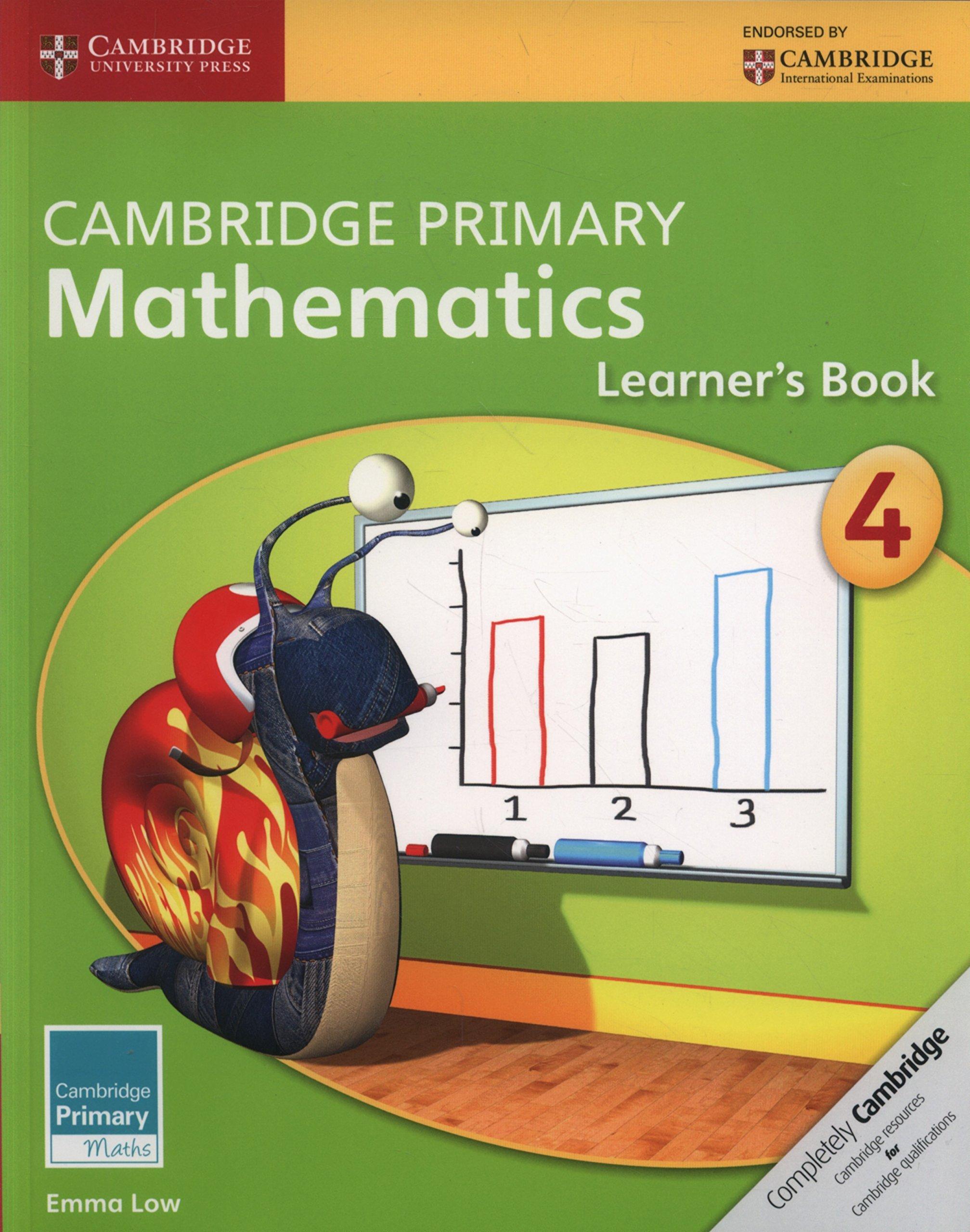 Download Cambridge Primary Mathematics Stage 4 Learner's Book (Cambridge Primary Maths) pdf
