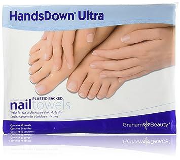 Graham Handsdown Ultra Poly-Backed Nail Towels