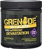 Grenade 50 Calibre Pre Workout Devastation - Berry Blast, 20 Servings