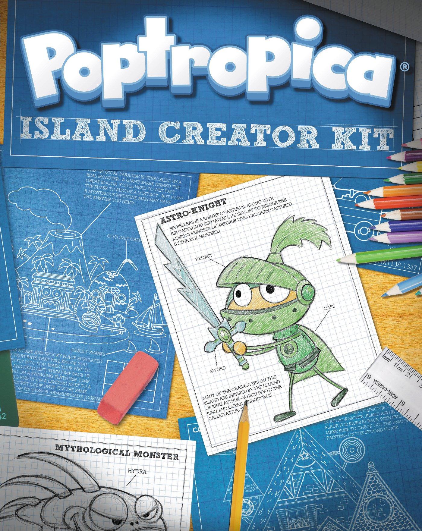 Island Creator Kit (Poptropica): Mitch Krpata: 9780448464930
