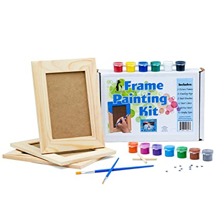 Amazon Picture Frame Painting Craft Kit Diy Arts And Crafts
