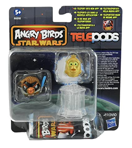 Amazon.com: Angry Birds Star Wars Telepods (2 Figures & Telepod) - Random Selection: Toys & Games