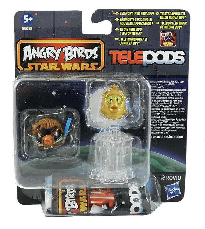 Amazon.com: Angry Birds Star Wars Telepods (2 Figures & Telepod) - Random Selection: Toys & Games