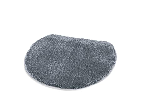 Sensational Kleine Wolke Elongated Lid Rug Cover Toilet Seat Covers W 18 5In X L 19 7In Anthracite Grey Dailytribune Chair Design For Home Dailytribuneorg