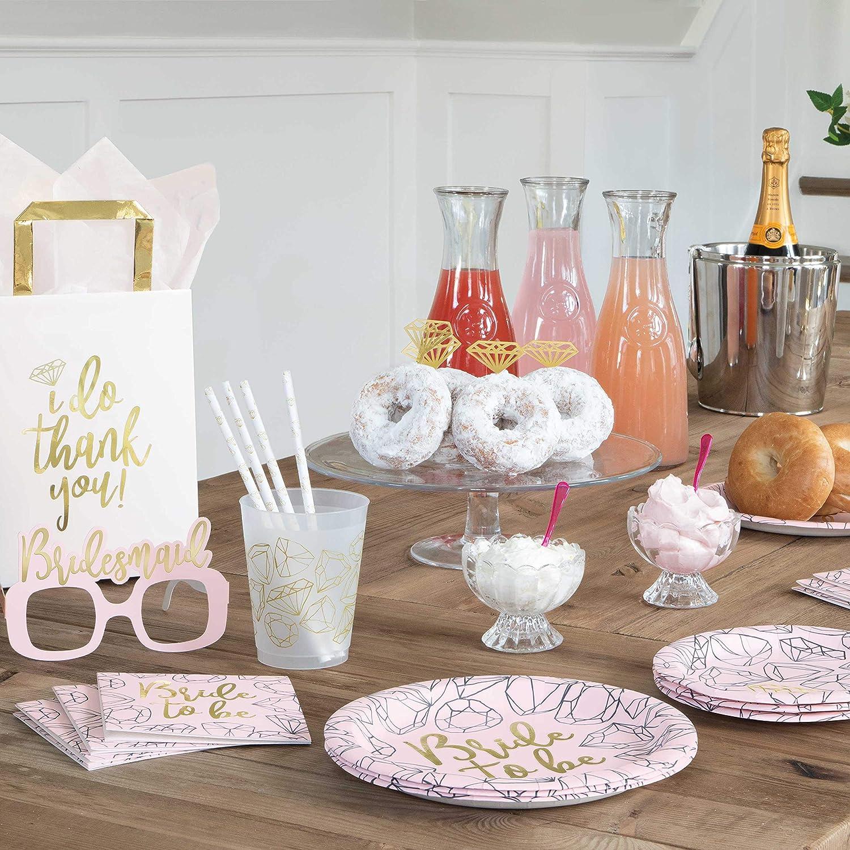 Unique bride to be BEVERAGE napkins