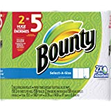 Bounty Select-A-Size Paper Towels, White, Huge Roll, 2 Count