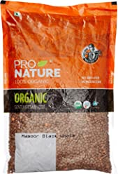 Pro Nature 100% Organic Masoor Black Whole, 1kg