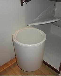 Einbau Teleskop M/ülleimer 14 Liter herausnehmbarer Eimer mit Griff /• Abfalleimer M/ülltonne M/ülltrennung M/üllkorb M/üllbeh/älter K/üche