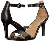 Naturalizer Women's Kinsley Sandal, Black, 7.5 M US