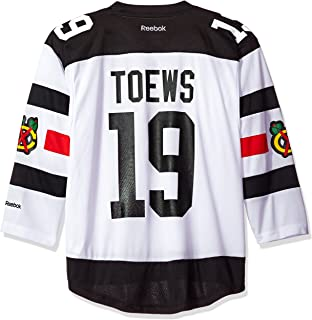 7c1a227f4 Jonathan Toews Chicago Blackhawks #19 NHL Youth Stadium Series Captain  Jersey White