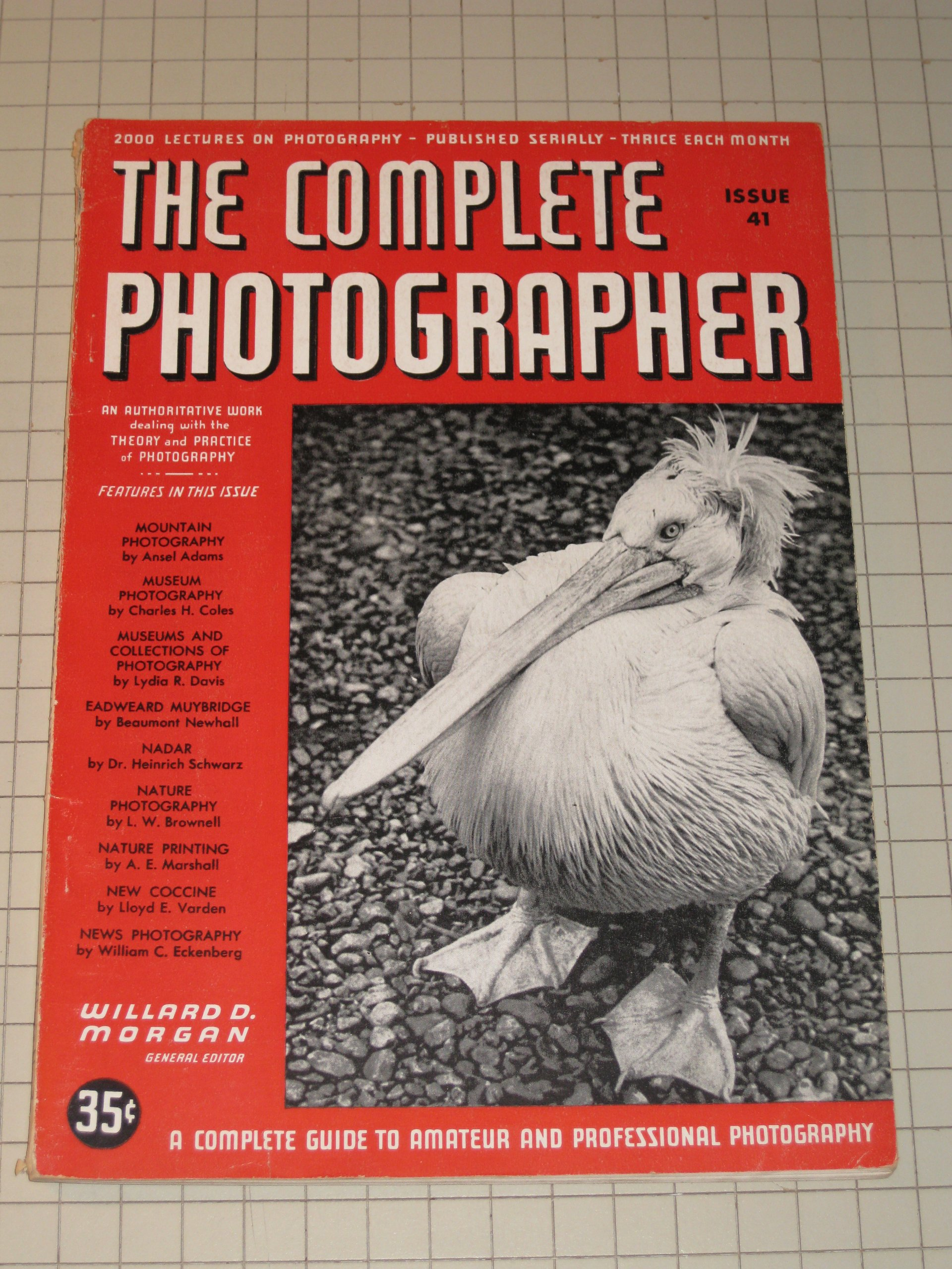 1942 the complete photographer magazine mountain photography by ansel adams eadweard muybridge nadar news photography