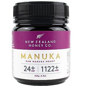 New Zealand Honey Co. Raw Manuka Honey UMF 24+ / MGO 1122+ | 8.8oz / 250g