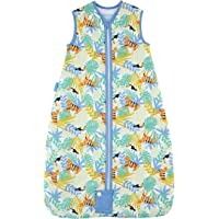 The Gro Company 0.5 Tog Tiger-Tastic Grobag for 18 to 36 Months Baby, Multicoloured