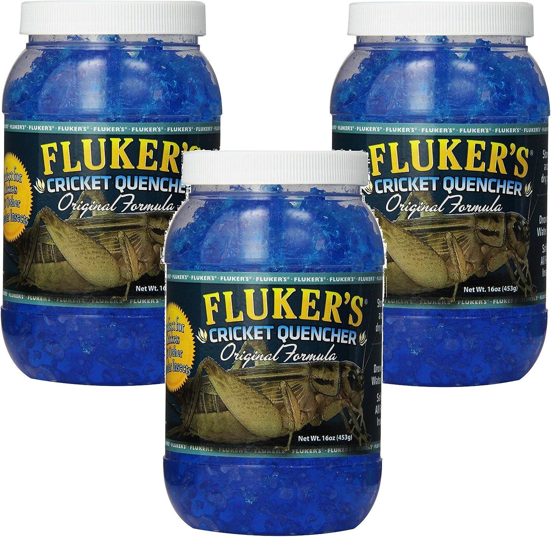 (3 Pack) Fluker's 16-Ounce Cricket Quencher Original Formula