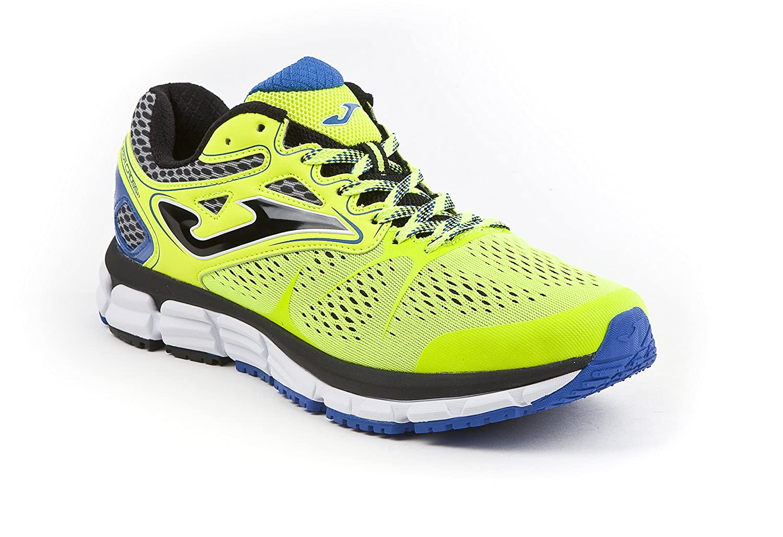 Joma Super Cross, Zapatillas de Running para Hombre 46 EU|Amarillo (Fluor)