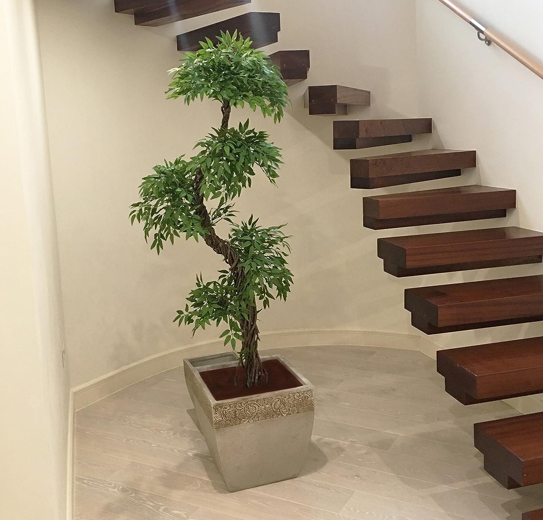 Elegante Artificiali Giapponese Fruticosa Alberi, Grande Lusso Replica /  Falso Indoor Plant   5ft 4