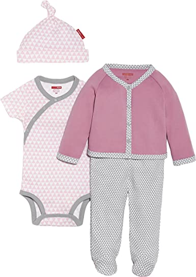 SkipHop Baby Boys 4 Piece Welcome Home Set