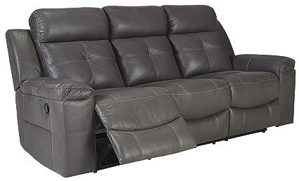 Amazon Com Signature Design By Ashley 8670588 Jesolo Reclining Sofa