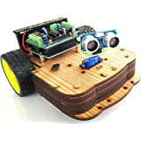 Robo India DIY Arduino Obstacle Avoiding Robot on The Arduino Robotic Kit