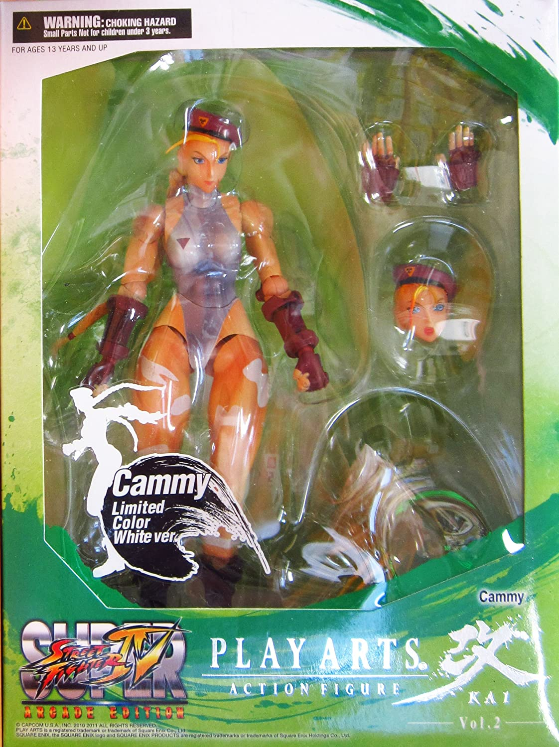 Square - Enix - Figurine - Street Fighter - Square Play Arts Kai - Cammy - Limited color Weiß version - 0583215029047 76ad5d