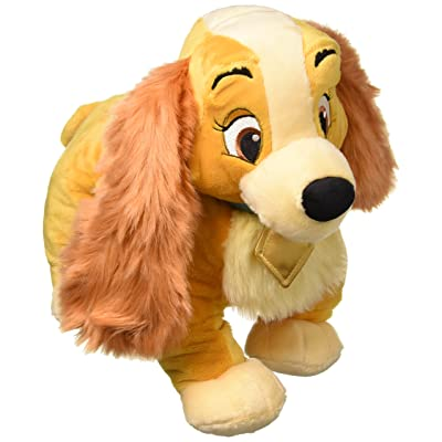 Disney Lady Plush - Lady and The Tramp - Medium - 14 Inch: Toys & Games
