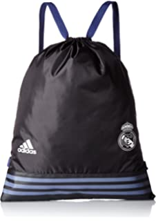 new product eb3d7 fcec3 adidas S94913 Unisex Real Madrid FC Sport Bag - Black, NS