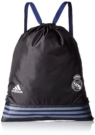 adidas S94913 Unisex Real Madrid FC Sport Bag - Black 598fc8c51ff7b