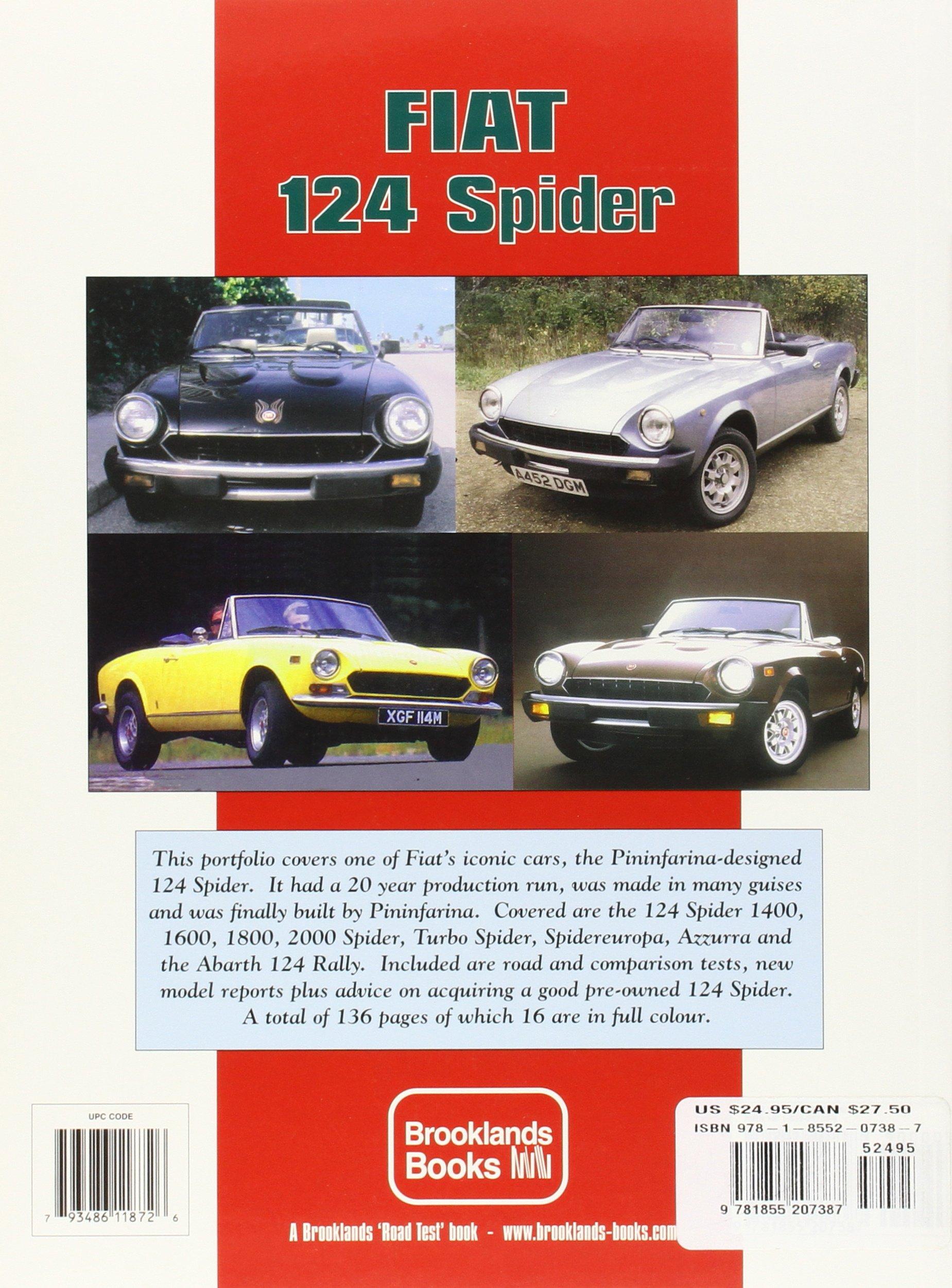 Fiat 124 Spider Performance Portfolio 1966-1985: Amazon.es: R. M. Clarke: Libros en idiomas extranjeros