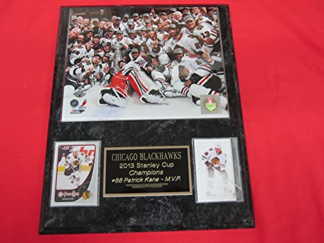 Amazon Com 2013 Chicago Blackhawks Stanley Cup Champions 2 Card
