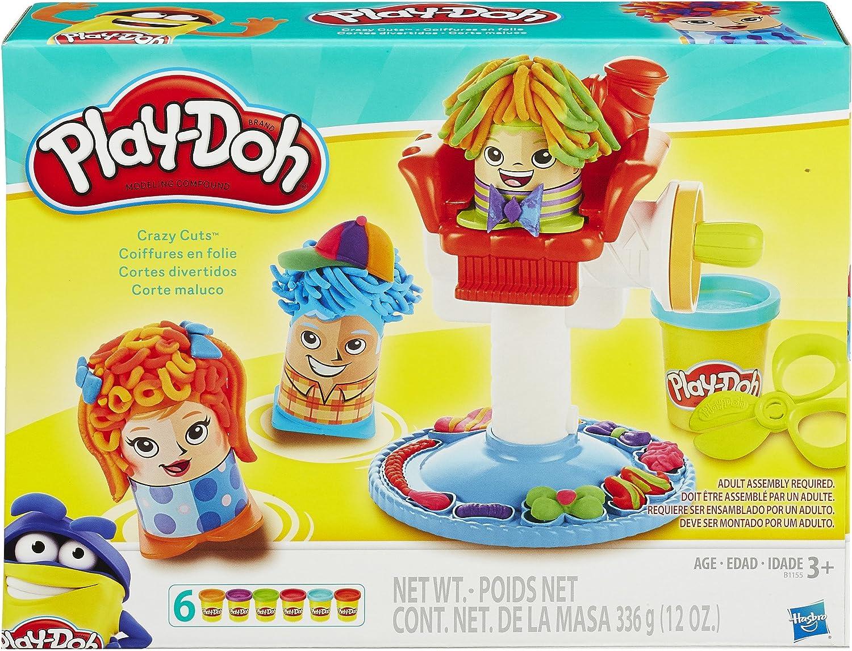 Amazon Com Play Doh Crazy Cuts Toys Games