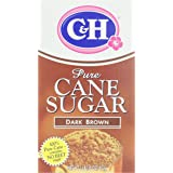 C&H Pure Cane, Granulated Dark Brown Sugar, 1 lb