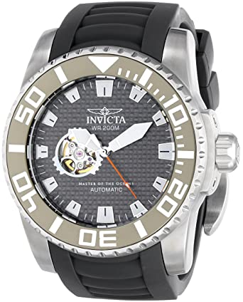 Invicta Mens 14679 Pro Diver Analog Display Japanese Automatic Grey Watch