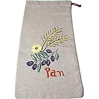 Morla Bolsa Pan Artesanal Decorativa para Cocina. 100% Hecha a Mano, ecológica, Reutilizable y respetuosa con el Medio…