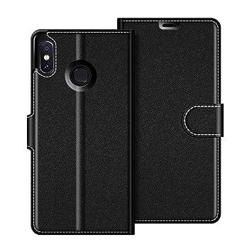 COODIO Funda Xiaomi Redmi Note 6 Pro con Tapa, Funda Movil Xiaomi Redmi Note 6 Pro, Funda Libro Xiaomi Redmi Note 6 Pro Carcasa Magnético Funda para ...