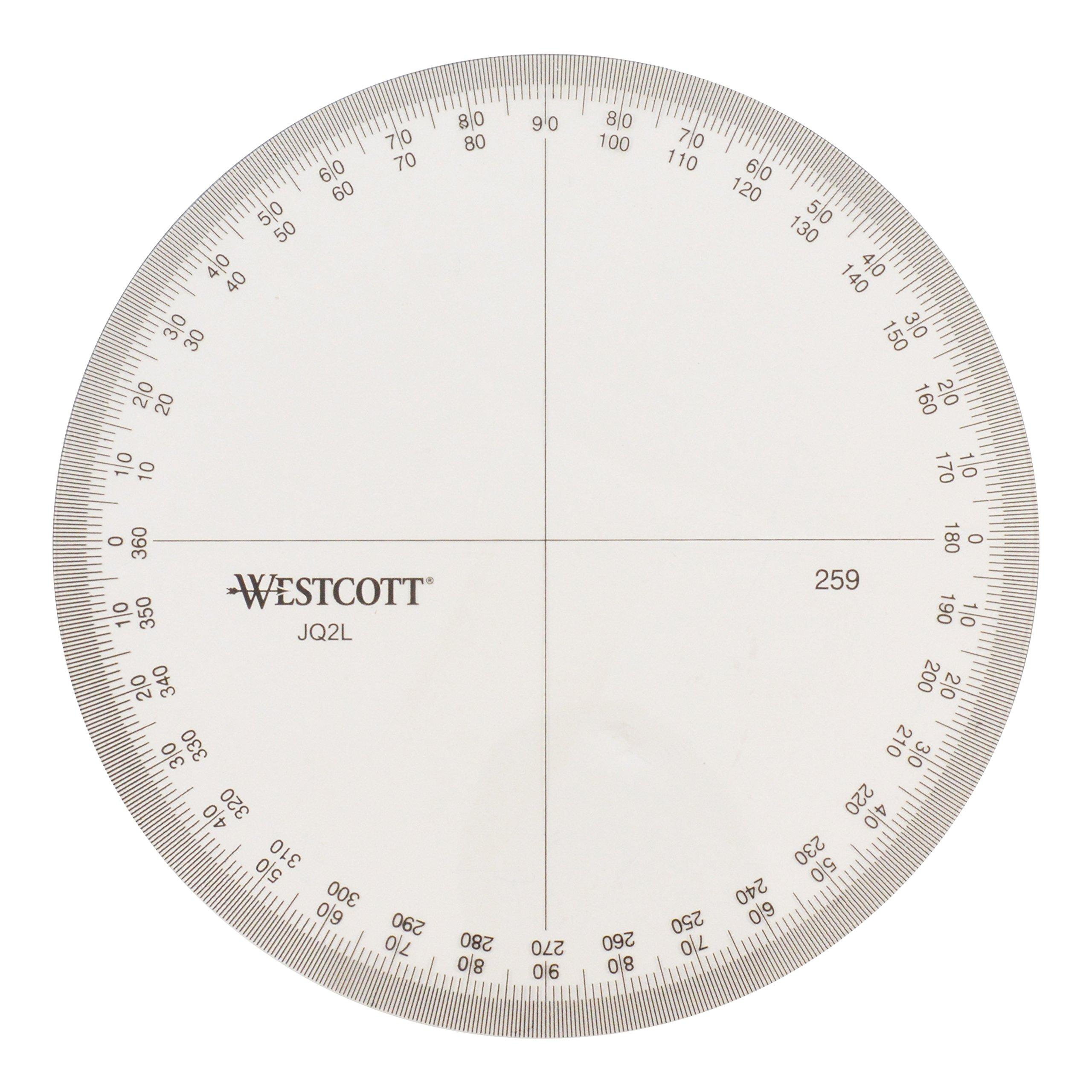 Westcott Protractor Measuring Tool (259)