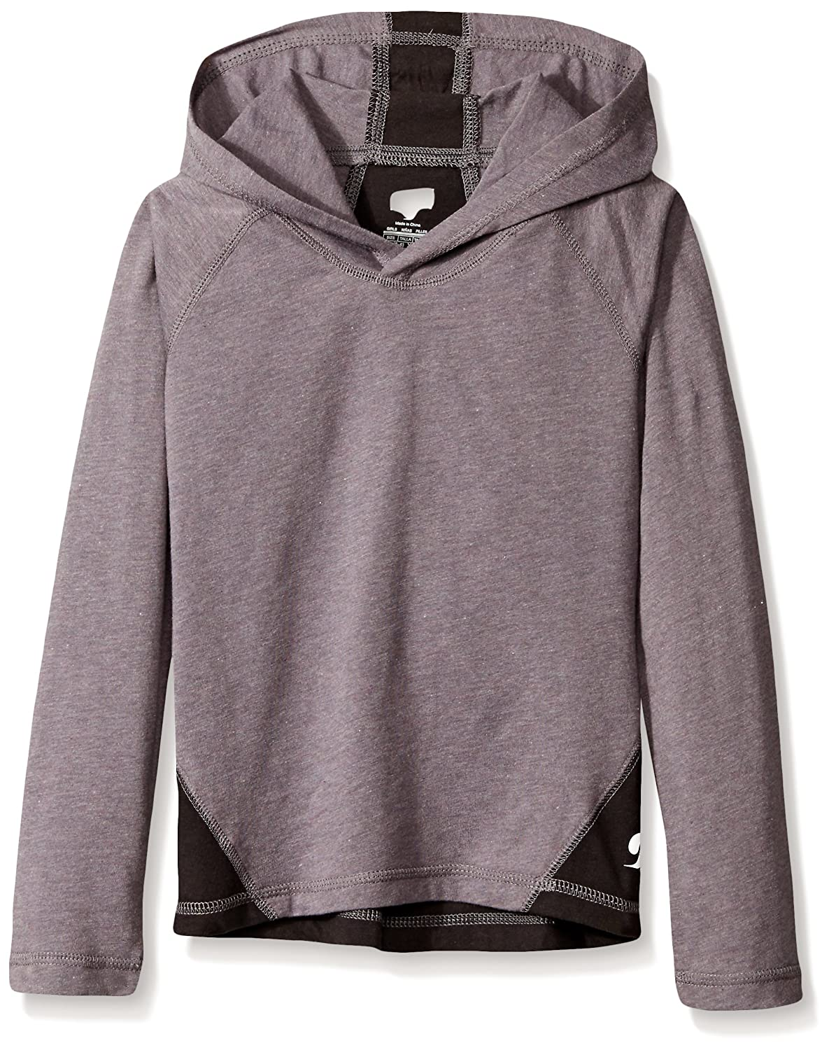 Soffe Girls' Big Colorblock Hoody Soffe Children's Apparel 6519G